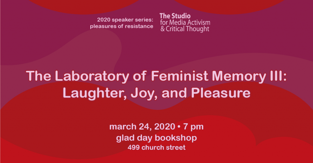 Banner for Laboratory of Feminist Memory III
